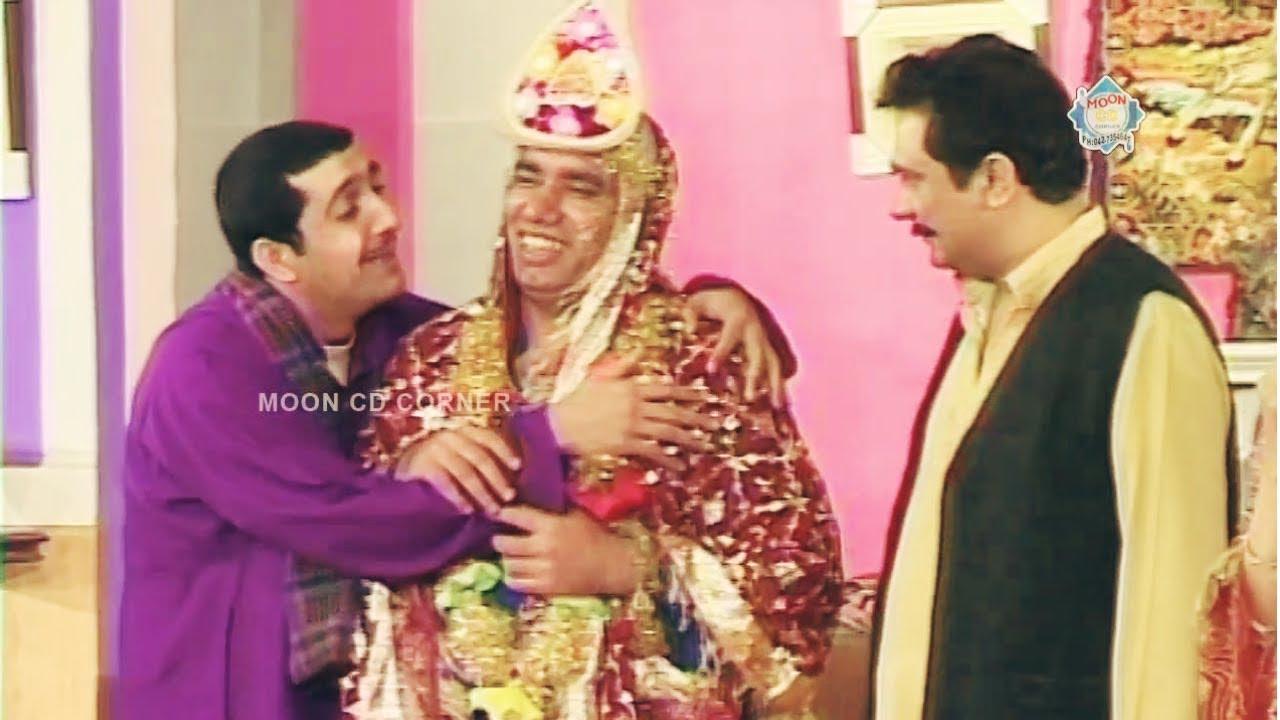 Nasir Chinyoti Wedding   Zafri Khan - Funny Stage Drama Clip