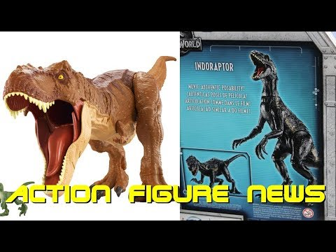 Jurassic World Fallen Kingdom Toys Have Been Announced! - Action Figure News