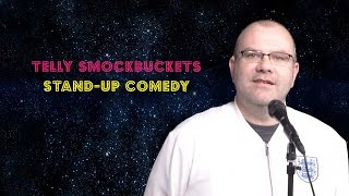 Telly Smockbuckets performs stand-up comedy - Steve Gadlin's Star Makers - S02E07 - 1/4