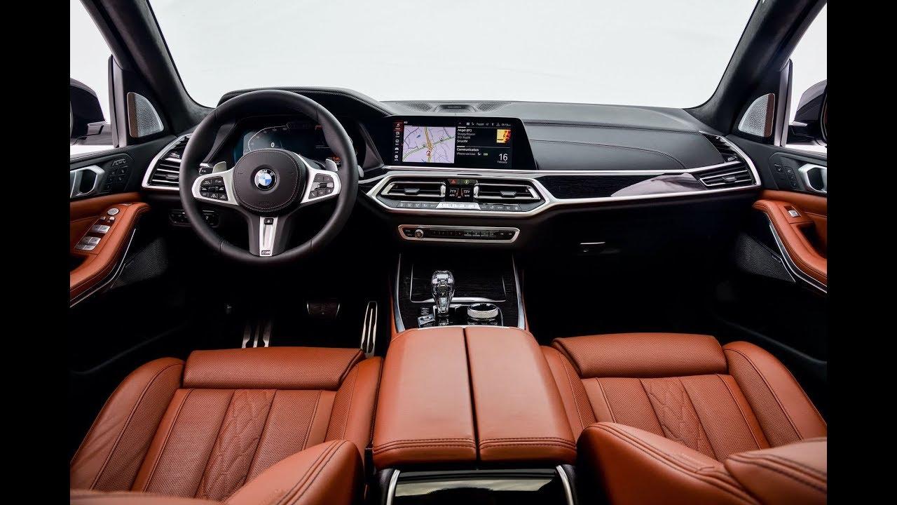 Interior Design Of Bmw X7 In Tartufo Merino Leather
