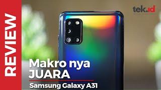 Review Samsung Galaxy A31, performa kamera oke di kelas menengah
