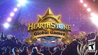 Netherlands vs Poland - Ro48 - 2018 Hearthstone Global Games - Week 6