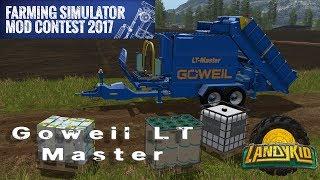 Скачать Farming Simulator 2017 Mod Contest Goweil LT Master
