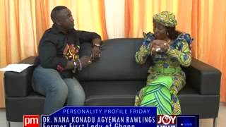 Dr. Nana Konadu Agyeman Rawlings - Personality Profile Friday on Joy news (9-5-14)