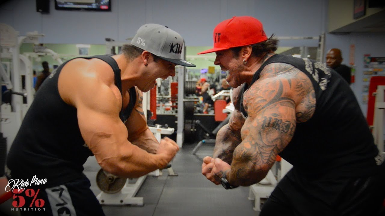 Rich Piana Exposed By Bostin Loyd - FAKE WEIGHTS !!! - YouTube