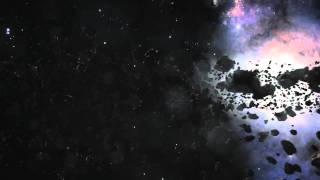Asteroid Belt Animation Test #1