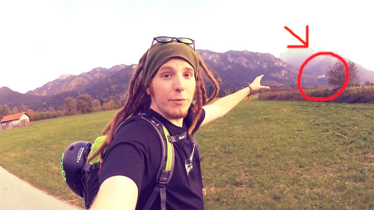 Die Letzte Etappe! Da ist das Schloss! - Longboard Tour Tag 39   ungefilmt - Spaß an den täglichen Videos der Longboard Tour? - Däumchen :)