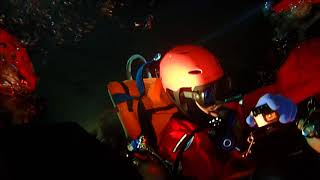 Ecra cave diving rescue training 2017