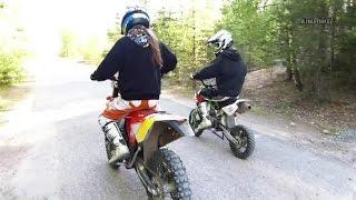 ycf150 pitbike vs beta rr300 enduro