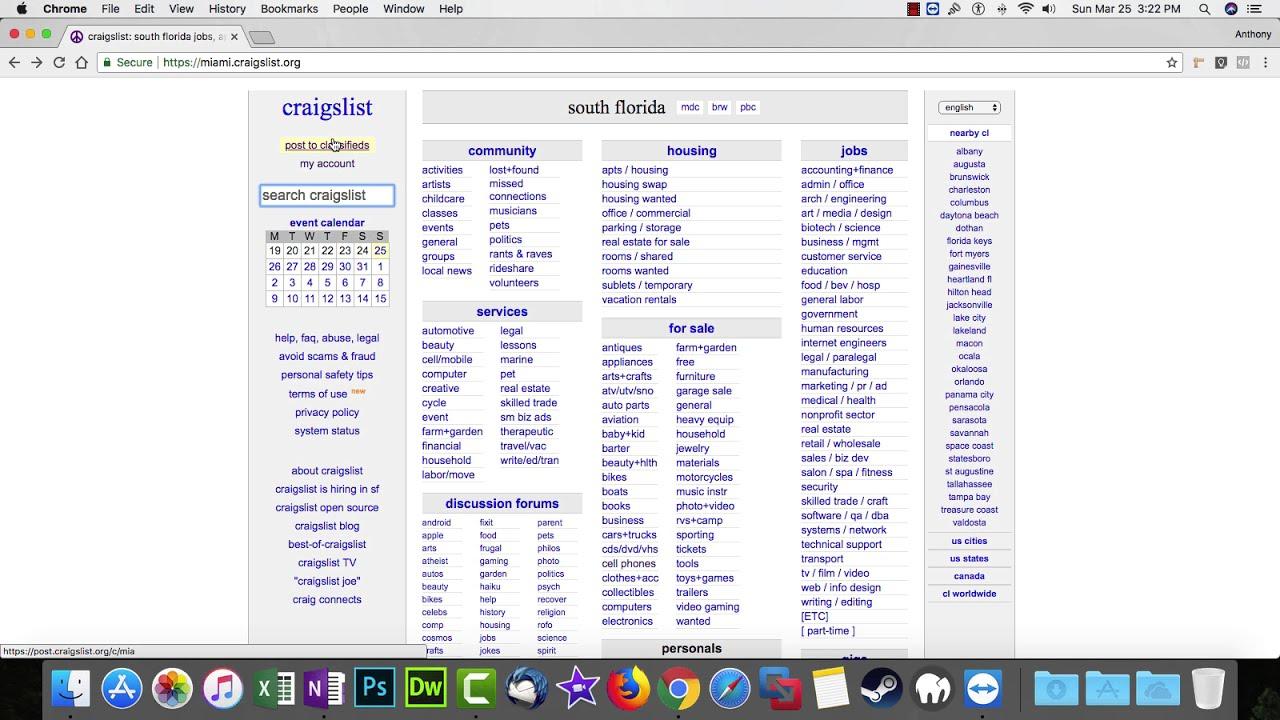 How To Post Ads On Craigslist - Beginner - YouTube