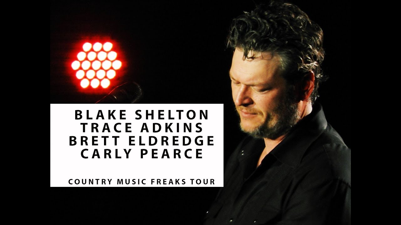 Blake shelton live on tour with trace adkins qa brett eldredge blake shelton live on tour with trace adkins qa brett eldredge and carly pearce kristyandbryce Image collections