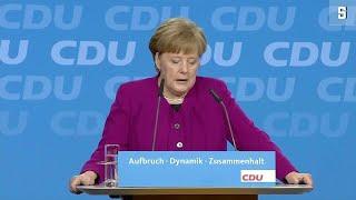 Merkel-Rede auf CDU-Sonderparteitag: Viel durchgesetzt,