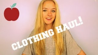 Back to School Clothing Haul 2013!