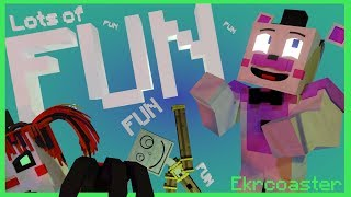 Lots of Fun Minecraft Music Video Song by Tryhardninja