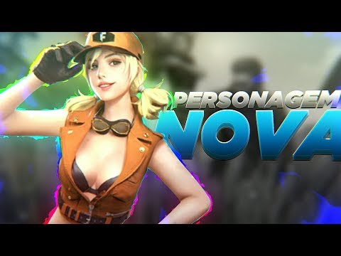 COMPREI A NOVA PERSONAGEM (MISHA)! FT. CANAL DO CHIN - FREE FIRE BATTLEGROUNDS ‹‹ FalandoJogando ››
