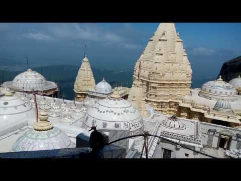 jain temple complex atop girnar mountain junagad