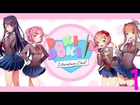 SOLD MY SOUL FOR A CUPCAKE | Doki Doki Literature Club [#1]