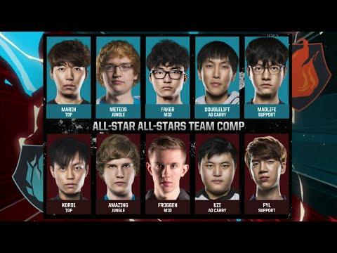 Team Fire vs Team Ice   All-Star All-Stars Match LoL All-Stars 2015 LA Day 4   Ice vs Fire All Star