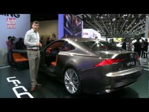 Lexus LF-CC concept at the 2012 Paris Motor Show - Auto Express