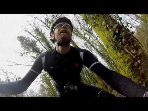 Carbon fibre mountain bike repair