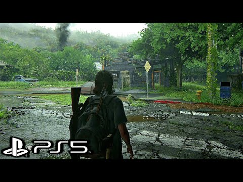 THE LAST OF US 2 PS5 Gameplay 4K HDR ULTRA HD