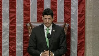 Democrats shout down Speaker Paul Ryan