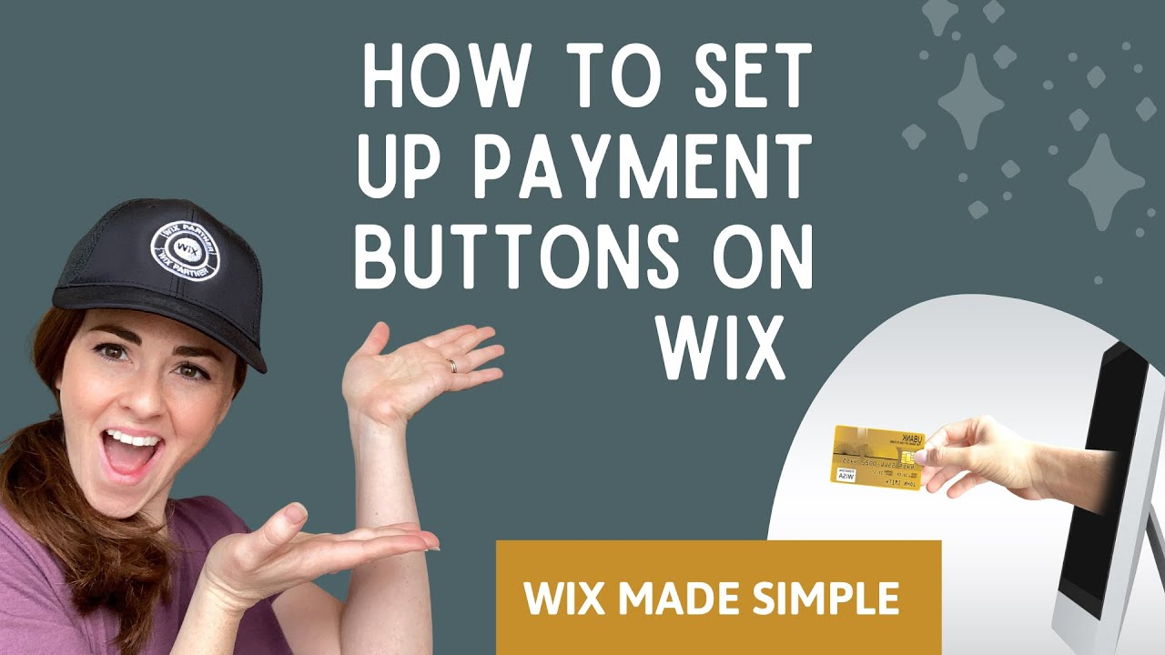 How to Set up Payment Buttons in Wix