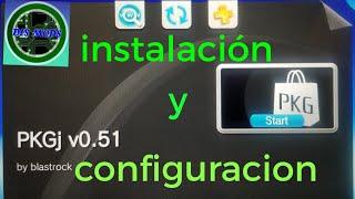 TUTORIAL : PKGJ v0.51 configuración y instalación