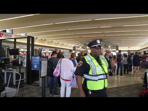 A walk through Eppley airfield in Omaha, Nebraska
