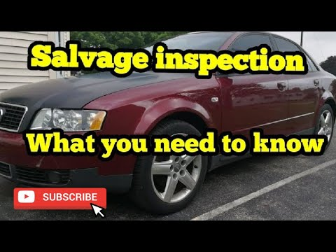 Salvage Inspection, how hard is it?
