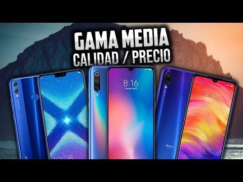 LOS MEJORES CELULARES GAMA MEDIA 2019 | CALIDAD PRECIO DIJO EL TEPE | QUE CELULAR COMPRAR GAMA MEDIA