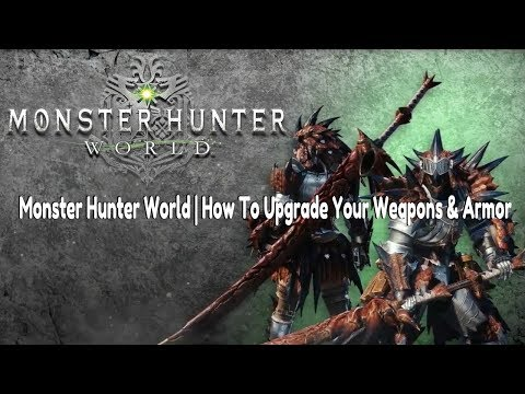 mh world how to get jewels for weapons and armor