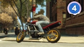 MOTORCYCLE GANG WARS! - Grand Theft Auto 4 - Part 4