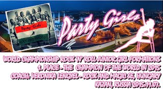 Video ROCK AND MAGIC SE, Hungary - Party Girls junior girl formation - World Championship 2015 download MP3, 3GP, MP4, WEBM, AVI, FLV November 2019