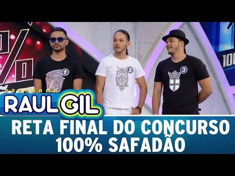Programa Raul Gil (04/06/16) - Reta Final do concurso 100% Safadão