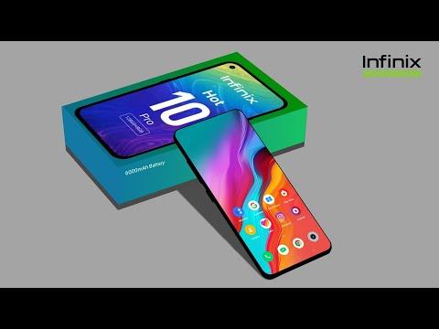 Infinix Hot 10 Pro - 64MP Penta Camera,6000mAh Battery,MTK Helio P95,8GB RAM/Infinix Hot 10 Pro