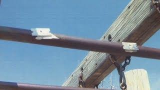 Shocking video: Razor blades on a playground?