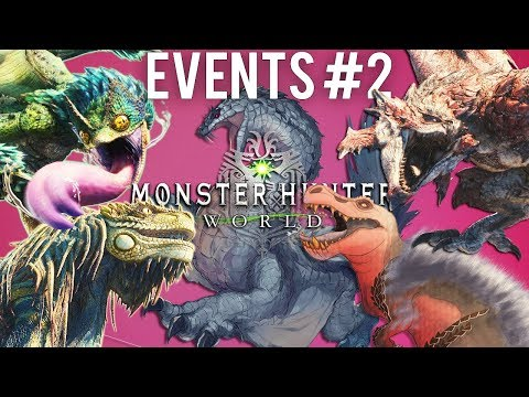 Monster Hunter World - Event Hunts - 5 Monsters Of The Ancient Forest In 1 Hunt