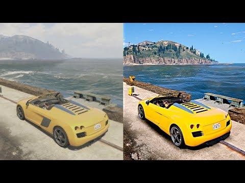 ► GTA 5 vs GTA 6 2018 REAL-LIFE GRAPHICS MOD [XBOX 360 vs PC]