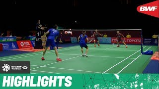 PRINCESS SIRIVANNAVARI Thailand Masters 2020 | Semifinals XD Highlights | BWF 2020