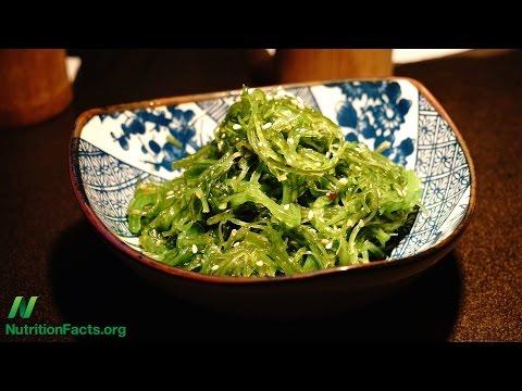 Wakame Seaweed Salad May Lower Blood Pressure