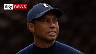 <b>Tiger Woods</b>' car crash: scenes of the wreckage