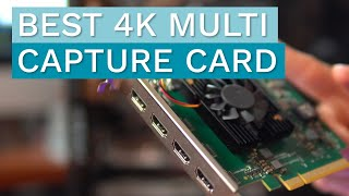 OBS Tutorial - Best Capture Card for Multiple HDMI Sources in High Quality