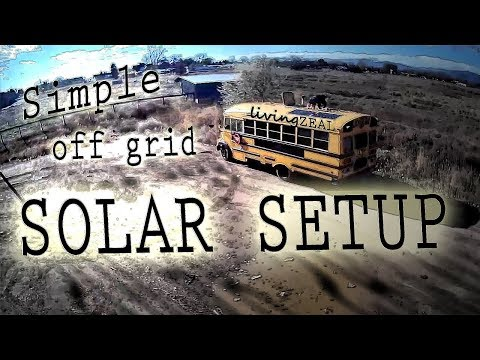 Simple DIY OFF GRID | Our Solar Power System