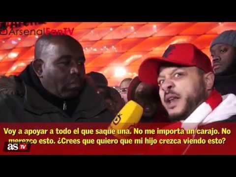 Los fans del Arsenal sentencian a ARSENE WENGER 3 minutos de ODIO PURO