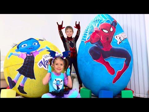 Человек паук видео как катя и макс