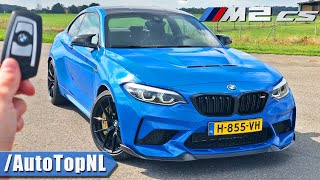 BMW M2 CS REVIEW on AUTOBAHN [NO SPEED LIMIT] by AutoTopNL