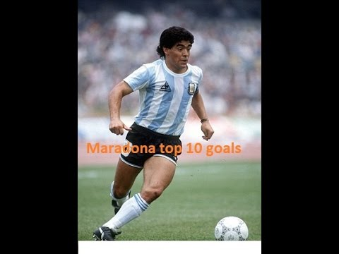 The 20 Greatest Goals of All Time 1 Diego Maradona
