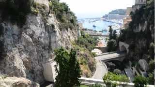 アキーラさん散策①モナコ公国・モンテカルロ駅周辺Monte Carlo station,Monaco
