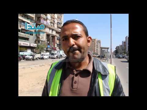 أعمال تطوير شارع مصطفى النحاس